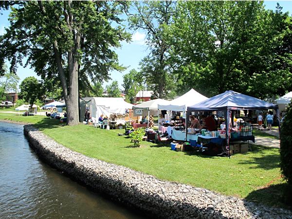Water Festival in Three Rivers, MI
