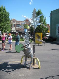 Scrapfest 2012 sculpture