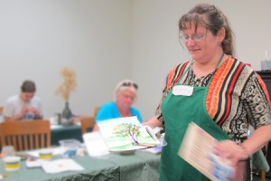 Teaching painting in Three Rivers