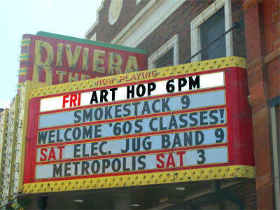 Art Hop Friday July3 - go see the restored Metropolis tomorrow!!