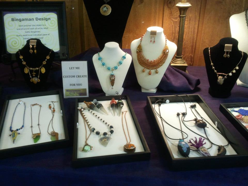 jewelry art by Kathy Bingaman