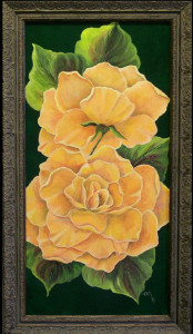 I Love to Paint Roses